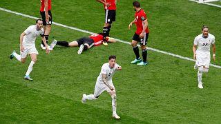 Uruguay győzelemmel kezdett a vb-n