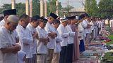 Muslime in Jakarta (Indonesien)