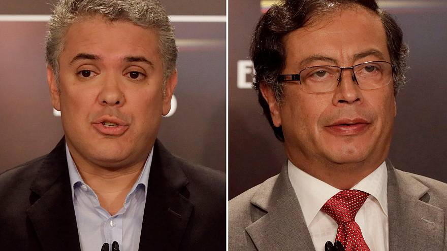 Polos Opostos do Discurso Populista Colombiano lideram Presidenciais
