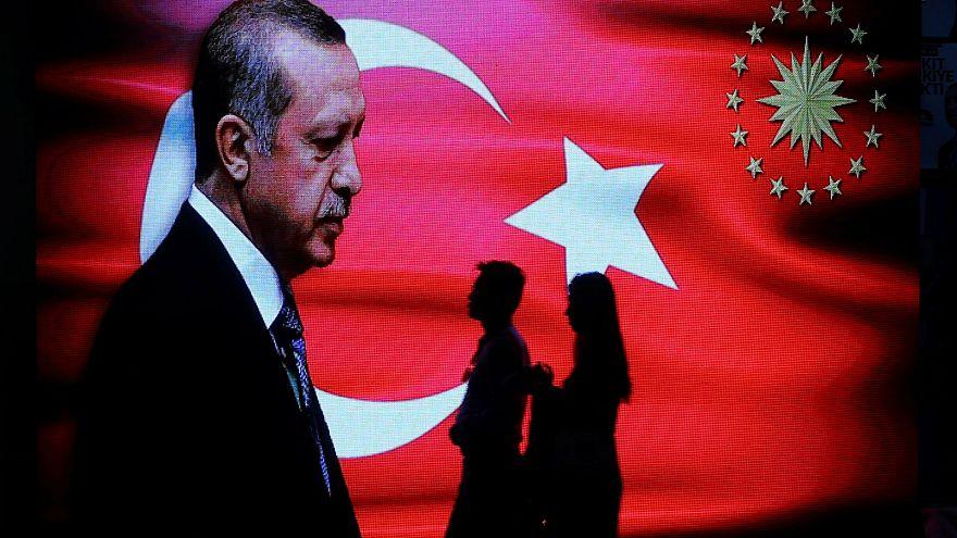 Erdogan mellett a belgiumi törökök