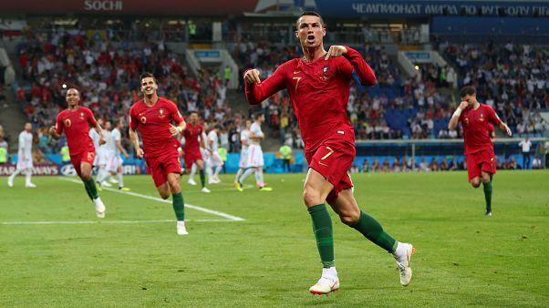 Dünya Kupası: Ronaldo 3-3 İspanya