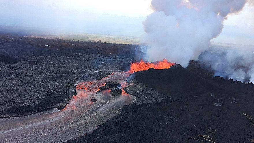 Eruption du Kilauea : quand la lave rencontre l'océan