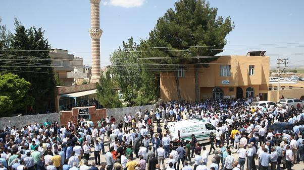 Suruç'taki cenaze törenine polis müdahalesi