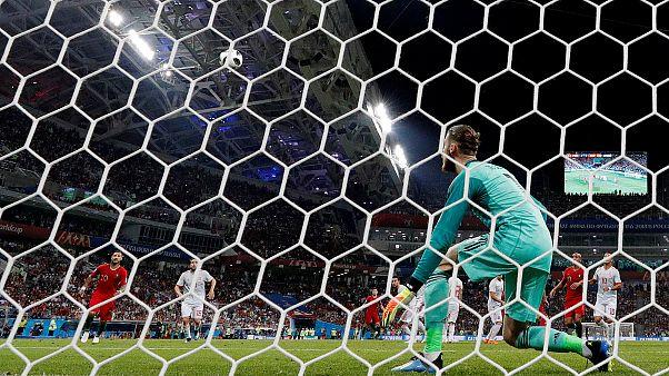 España y Portugal empatan (3-3) en un partido vibrante