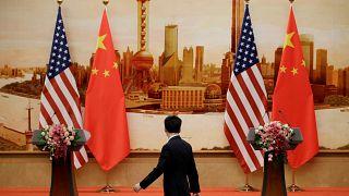 Die USA belegen chinesische Produkte mit Zöllen.