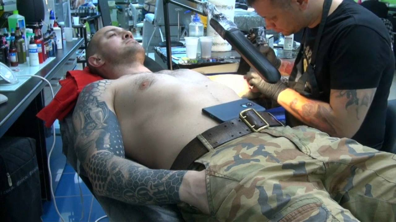 Tattoo artists cash in on World Cup