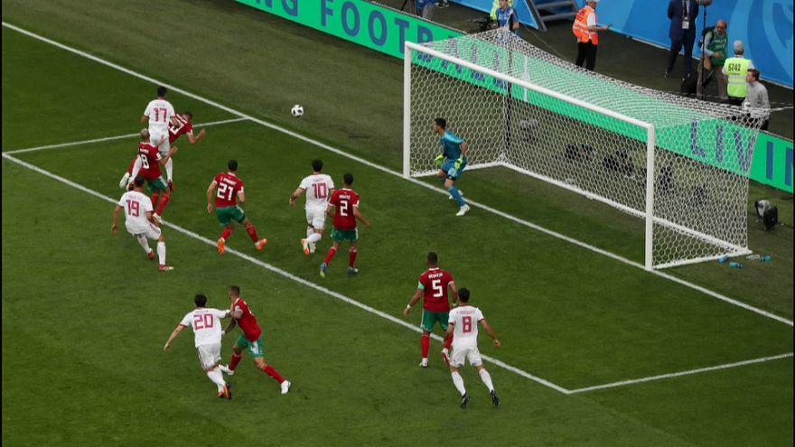 Estreno amargo de Marruecos ante Irán en el Mundial