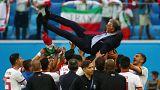 Autogolo marroquino dá vitória ao Irão de Carlos Queiroz