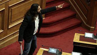 Putschaufruf im griechischen Parlament