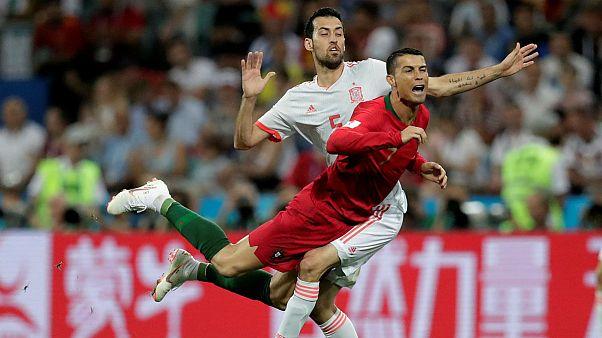 پایان بازی مهیج همگروهی ایران؛ اسپانیا ۳ پرتغال ۳