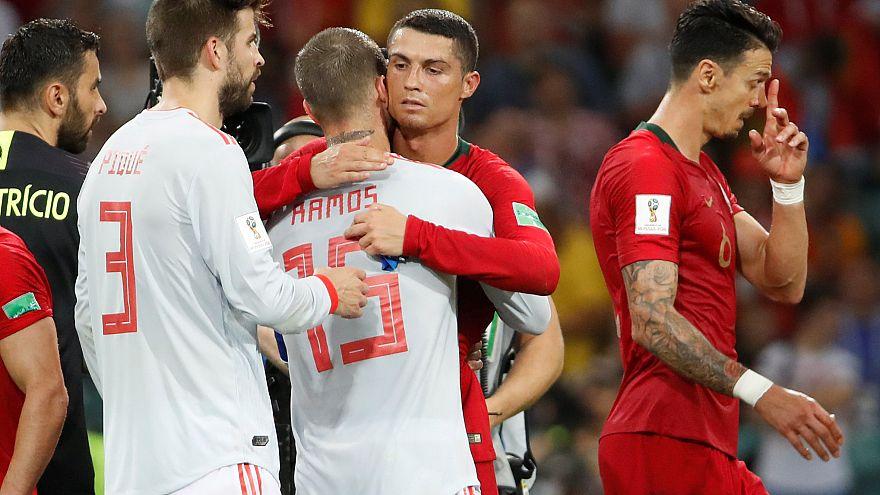 Fußball-WM: Spanien und Portugal trennen sich 3:3 unentschieden