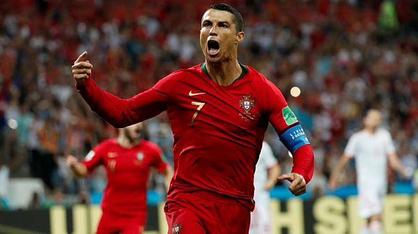 Cristiano Ronaldo 3 - España 3