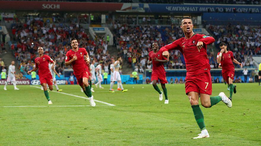 Portugal et Espagne se neutralisent 3-3