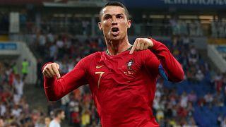 """Portugal e Espanha empatam em """"Ronaldo Show"""""""