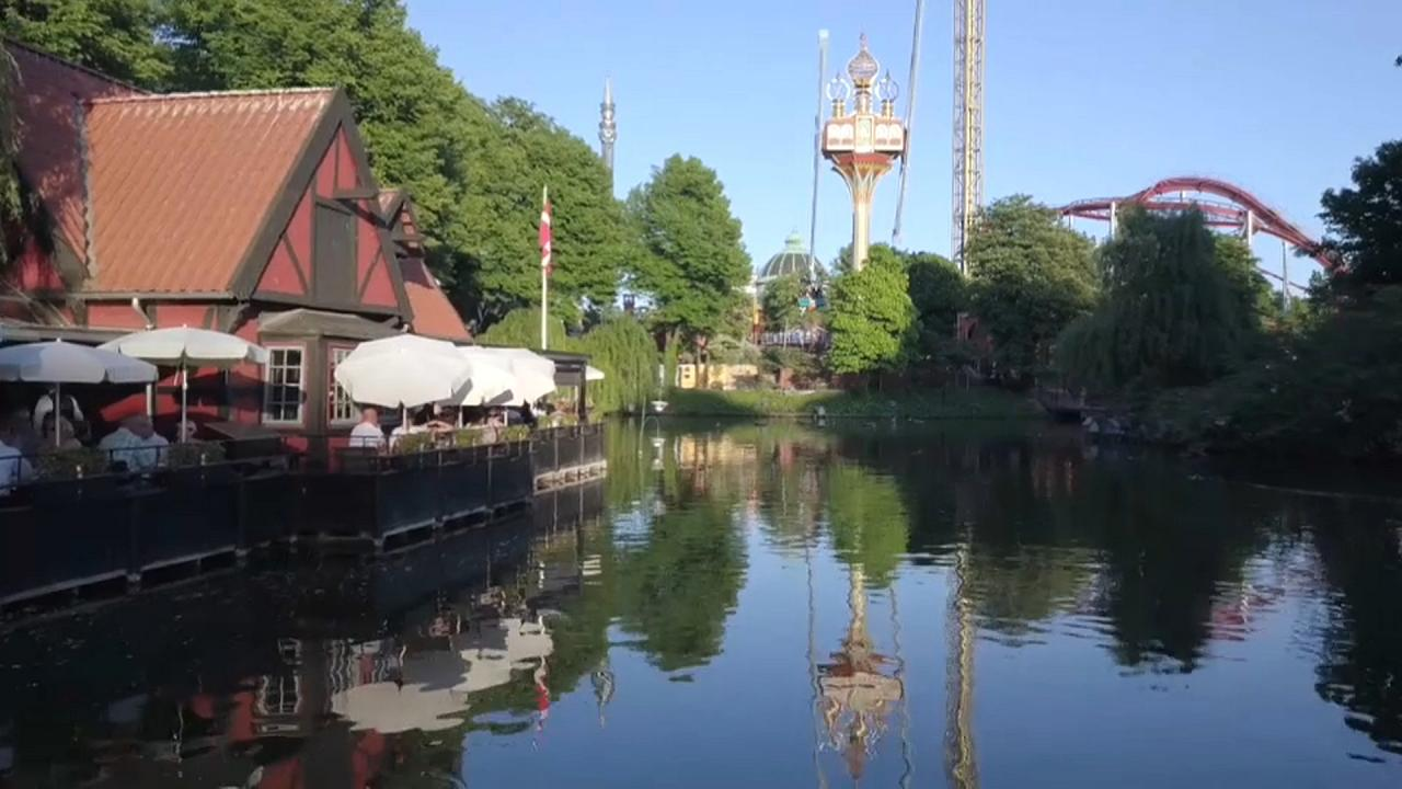 """Vergnügungspark """"Tivoli"""" in Kopenhagen"""