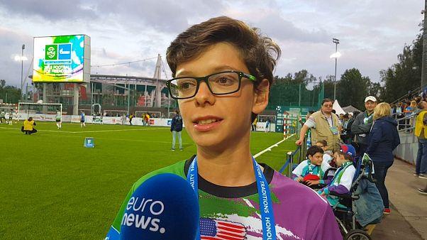 Football for Friendship profile: Nadav, USA