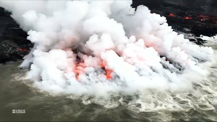 Кислотный туман - новая беда от Килауэа