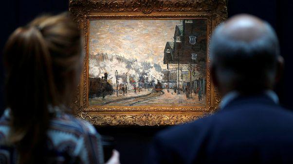 لوحتان لبيكاسو ومونيه تتصدران مزاداً للأعمال فنية في لندن