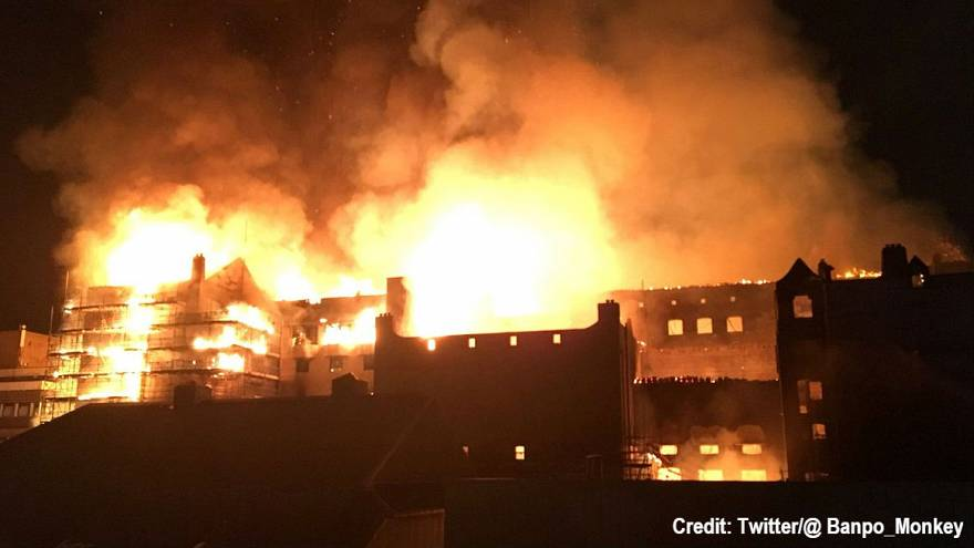 Massive blaze is a 'devastating loss for Glasgow'