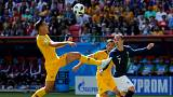 World Cup 2018 live: France lead Australia in the closing minutes