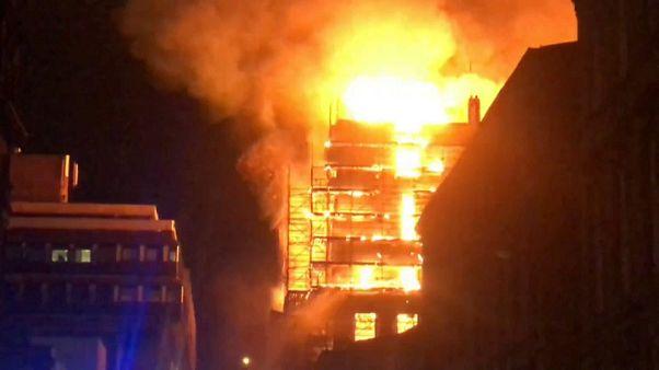 حريق هائل يصيب مجدداً ثاني أرقى الجامعات البريطانية
