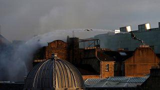 Kunsthochschule in Glasgow ist wieder abgebrannt