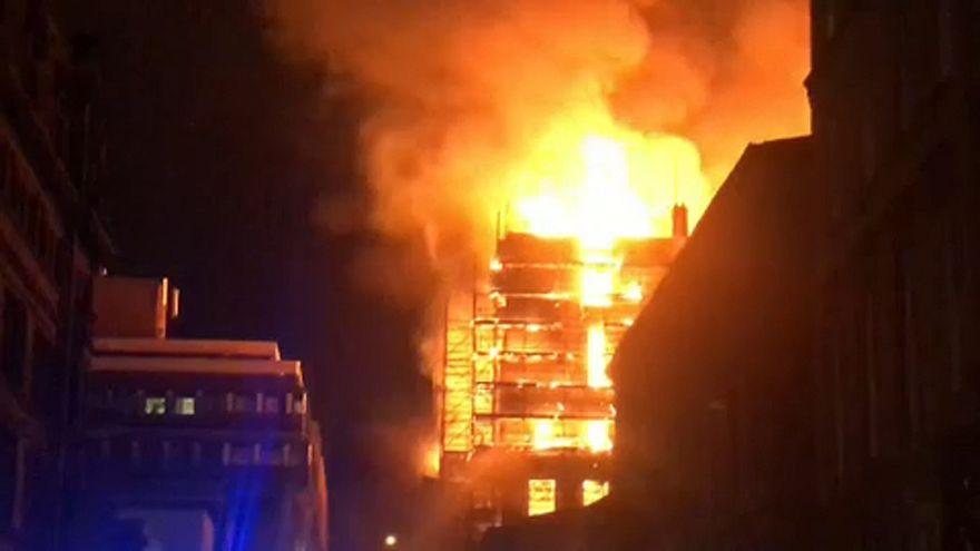 Megint leégett a leghíresebb Mackintosh-ház