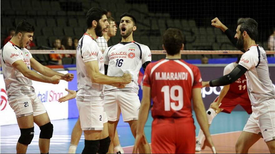 والیبال ایران لهستان لیگ ملتها ۲۰۱۸