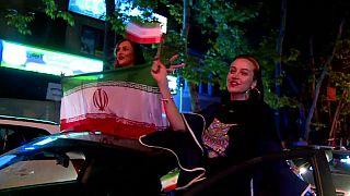 شاهد كيف احتفل الإيرانيون بفوزهم على المغرب في أول موعد لهم بالمونديال