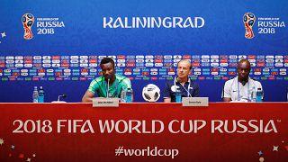 Хорватия и Нигерия готовятся к матчу