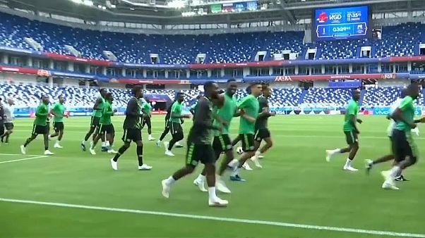 Croacia y Nigeria se estrenan esta noche en el Mundial