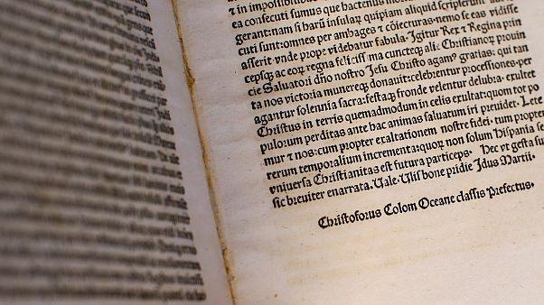 Vatikan'ın kayıp Kristof Kolomb mektubu Atlanta'da bulundu
