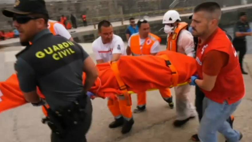At least four dead as hundreds more people rescued from Mediterranean