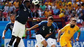 مونديال روسيا: المنتخب الفرنسي يفوز على أستراليا بهدفين لهدف