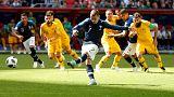 جام جهانی روسیه؛ فرانسه به کمک فناوری ویدئویی استرالیا را شکست داد