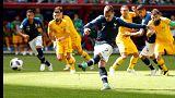 Francia se impone sobre Australia con un 2-1
