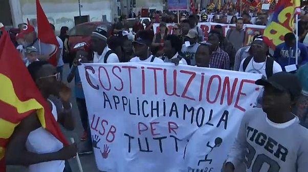 Roma: lavoratori migranti e italiani nel ricordo di Soumaila Sacko