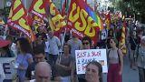 Miles de personas salen en Roma para pedir reformas al Gobierno