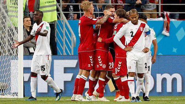 Peru üstün oynadığı maçta Danimarka'ya 1-0 mağlup oldu