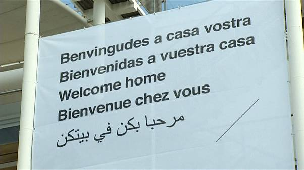 """Valencia al Aquarius: """"Bienvenidos a vuestra casa"""""""