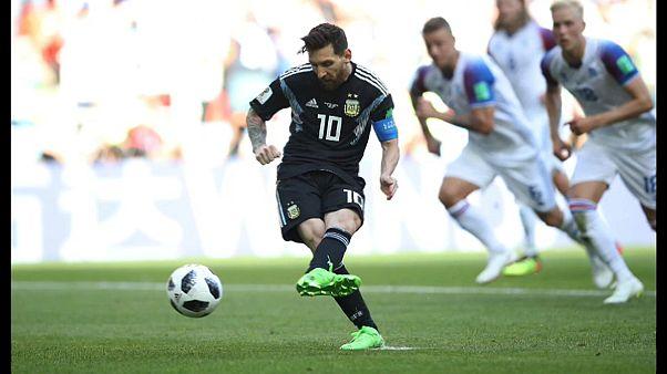 Messi falla un penalti, Argentina no puede con Islandia (1-1)