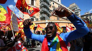 Italien: Sozialprotest in Rom