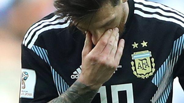 Аргентина сыграла вничью со сборной Исландии - счет  1:1