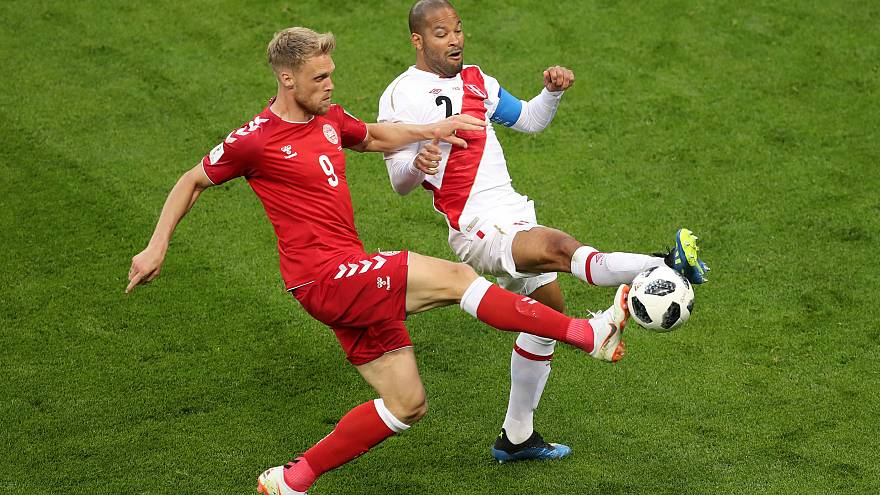 World Cup 2018: Denmark beats Peru 1-0 with a goal from Poulsen