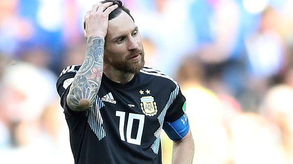 Le premier match raté de Lionel Messi