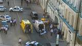 Taxi runs into crowd in central Moscow, injuring eight