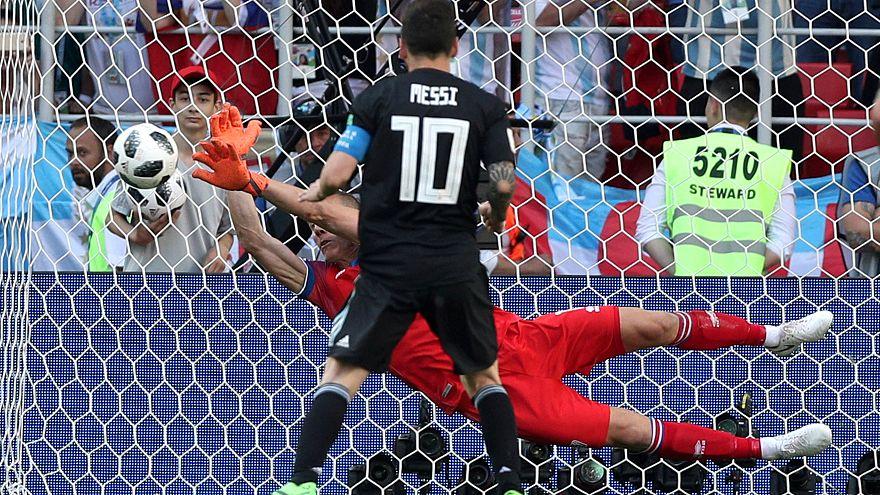 Argentina e Islândia empatam na Rússia