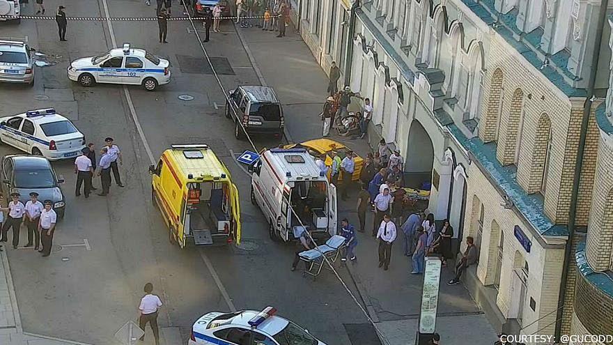 Un taxi fauche sept personnes à Moscou