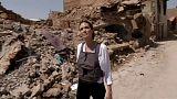 شاهد: ما قالته انجلينا جولي خلال زيارتها للموصل في ثاني أيام عيد الفطر