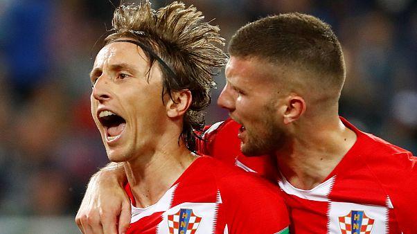 Ölüm grubunda Hırvatistan Nijerya'yı 2-0 ile geçti